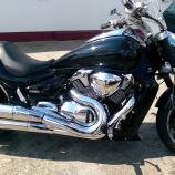 Motorrad nach der Aufbereitung